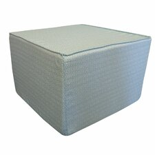 Infinity Cotton Cube Ottoman