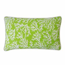 Coral Outdoor Lumbar Pillow