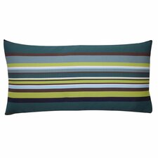 Aloe Stripes Outdoor Lumbar Pillow