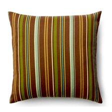 Thin Stripe Synthetic Throw Pillow