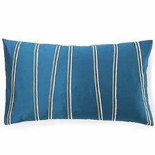 Diagonal  Silk Lumbar Pillow
