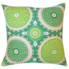 Coin Silk Throw Pillow