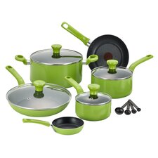 Excite 14 Piece Cookware Set with Thermo-Spot