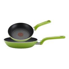 Excite Color 2 Piece Non Stick Frying Pan Set