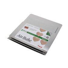Airbake 3 Piece Natural Aluminum Cookie Sheet Set