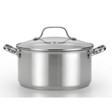 Performa 5-qt. Stainless Steel Round Dutch Oven