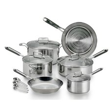 PerformaPro Stainless Steel 14-Piece Cookware Set