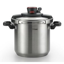 8-Quart Clipso Stainless Steel Pressure Cooker