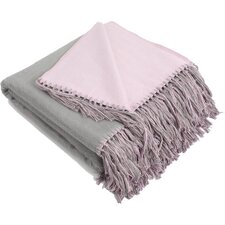 Brushed Bamboo Viscose Throw