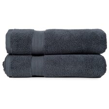Zero Twist Bath Towel (Set of 2)