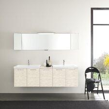 "Light 69"" Double Bathroom Vanity Set"