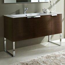 "Essenze 53"" Single Modern Bathroom Vanity Set"