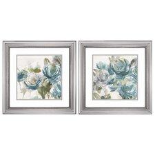 Secret Garden2 Piece Framed Painting Print Set