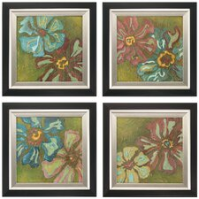 Electre I , II , III and IV 4 Piece Framed Graphic Art Set
