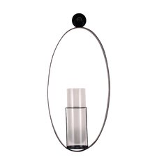 1 Light Metal Hanging Sconce