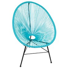 Acapulco Wire Basket Lounge Chair Indoor/Outdoor Stackable