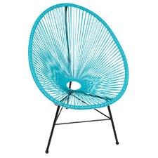 Acapulco Wire Basket Lounge Chair Indoor/Outdoor Stackable