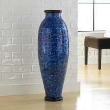 Mosaic Ocean Round Floor Vase