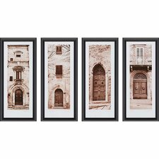 La Porta by Blaustein 4 Piece Framed Photographic Print Set
