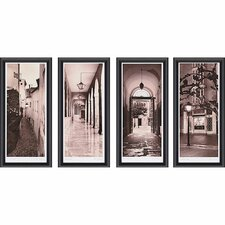 Espana by Blaustein 4 Piece Framed Photographic Print Set
