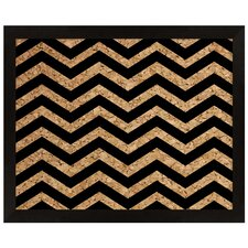Chevron Cork Bulletin Board