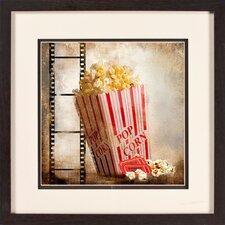 Popcorn Giclée Framed Graphic Art