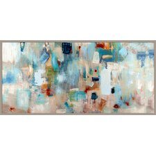Jazz Abstract Giclée Framed Painting Print