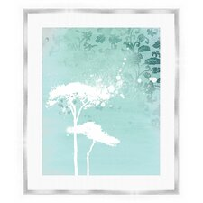 Trees I Giclée Framed Graphic Art