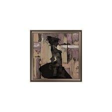 Feminine Silhouette I Framed Graphic Art