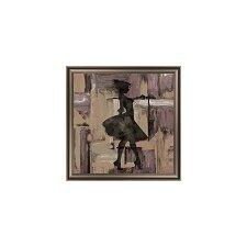 Feminine Silhouette II Framed Graphic Art
