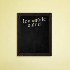 Lemonade Stand Framed Chalkboard
