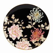 """Painted Camellia 8"""" Coupe Salad Plate"""