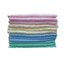 100% Cotton Deluxe Wash Coth (Set of 12)