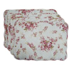 Quilted Vintage Rosie Placemat (Set of 4)