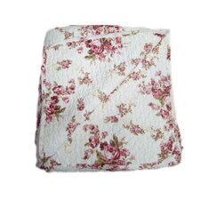 Quilted Vintage Rosie Reversible Throw Blanket