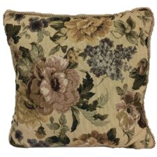 Jacquard Golden Romance Throw Pillow