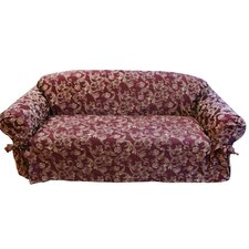 Jacquard Scroll Sofa Slipcover