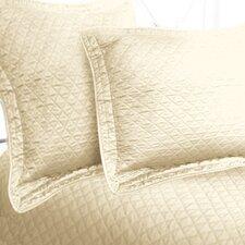 Luxury Cotton Sateen Diamond Coverlet Collection