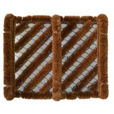 Diagonal Stripes Doormat