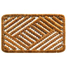 Twisted Overlapping Cross Hatch Doormat