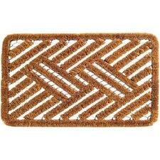 Twisted Spiral Cross Hatch Doormat