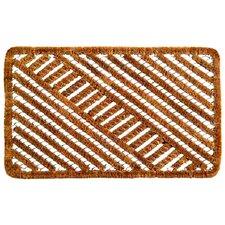 Twisted Spiral Diagonal Doormat
