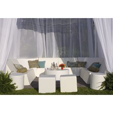 Romp Cabana 13 Piece Bench Seating Group