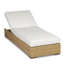 Leucadia Chaise Lounge with Cushions