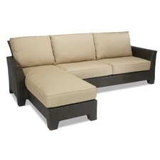 Malibu Sectional Sofa with Cushion