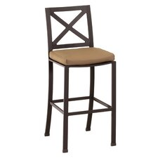 "La Jolla 26"" Bar Stool with Cushion"