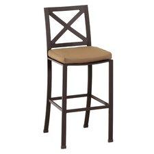 "La Jolla 30"" Bar Stool with Cushion"
