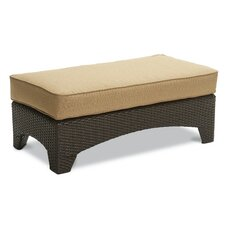 Santa Barbara Ottoman with Cushion