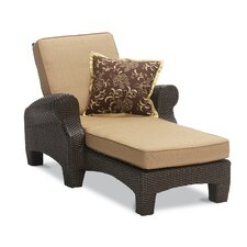 Santa Barbara Single Chaise Lounge with Cushion