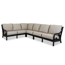 Monterey Sectional with Self Welt Cushions